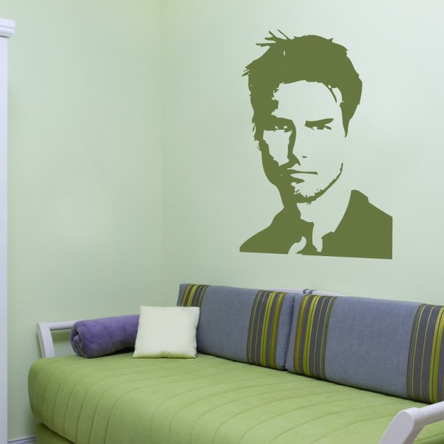 Cool GIANT WALL DECALS OF TOM CRUISE ARE A THING
