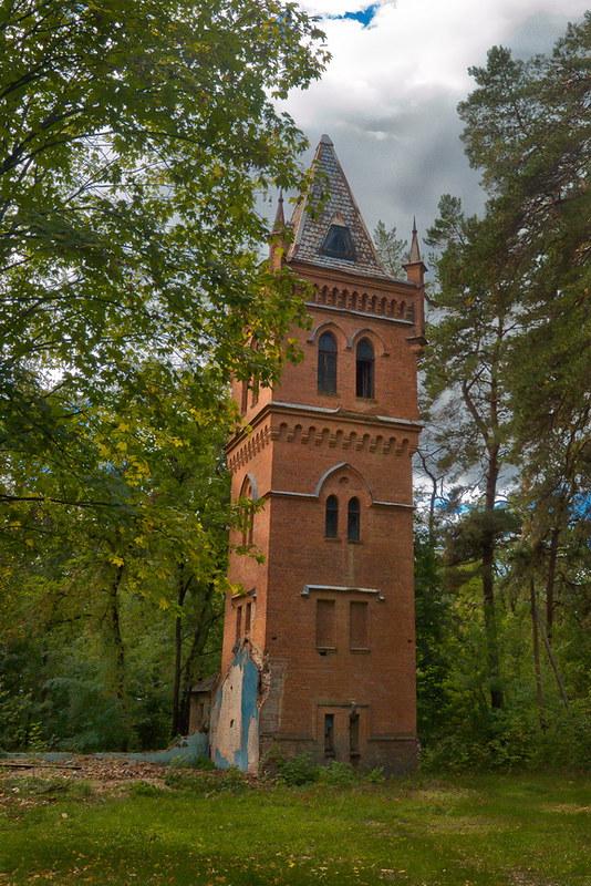 Водонапорная башня в Натальевке