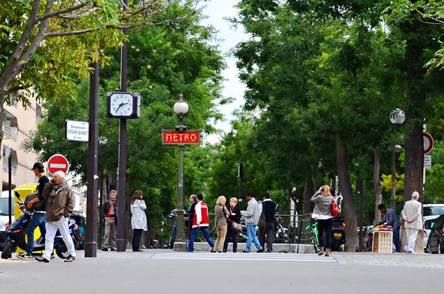 Boulevard Edgar Quinet, Montparnasse, Paris, France