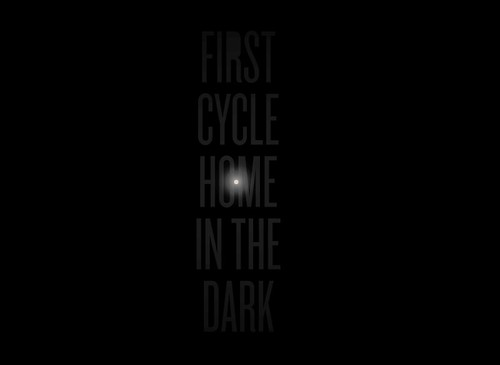 Day 17 - first cycle home in the dark (at normal home time)
