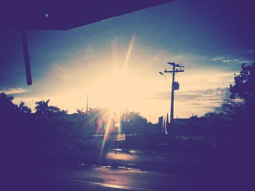 Depois de uma ótima noite de chuva...Deus nos agracia com esse sol perfeito...
