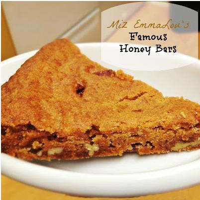 Mis EmmaLou's Honey Bars (Food Good, Laundry Bad)