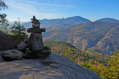 hiking adirondacks trail cairn adirondackmountains highpeaks giantofthevalley giantmountain dixmountain noonmarkmountain dialmountain dixrange houghmountain