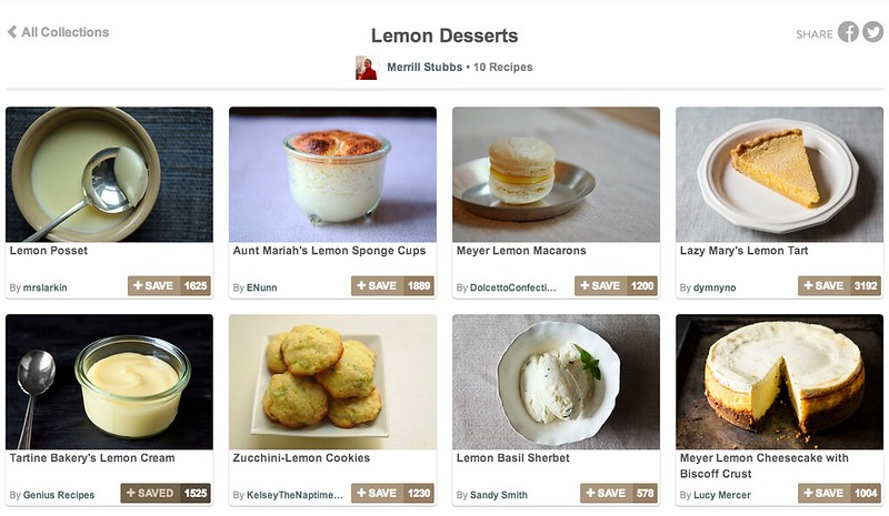 Merrill's Favorite Lemon Desserts