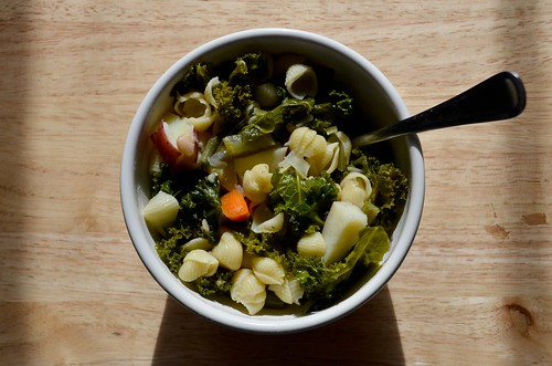 Easy Green Minestrone Soup from TheKitchn