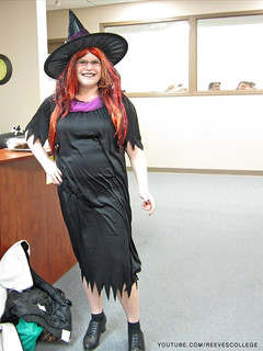 Check out Halloween Costumes at the Reeves College Lethbridge Campus in Alberta - Witch