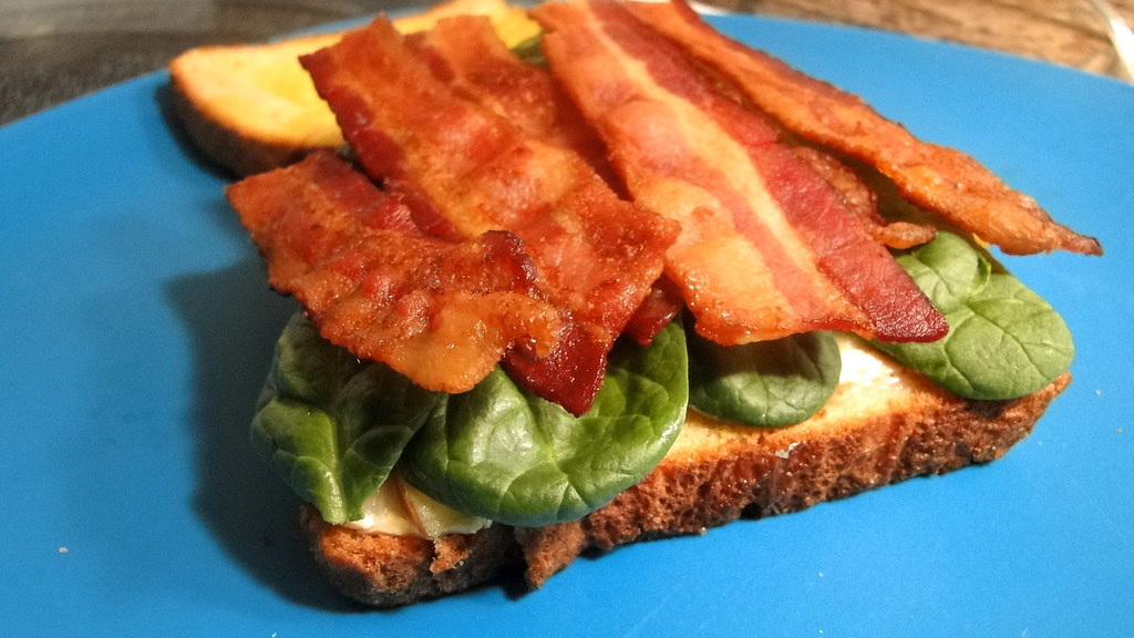 Bacon Apple Brie Sandwich