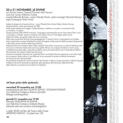 LE DIVINE - Teatro Nudo - Programma