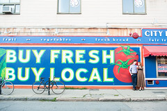 Mural on City Feed & Supply, Jamaica Plain