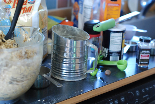 cooking mess