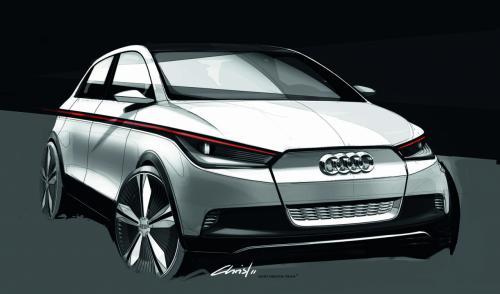 Электромобиль Audi A0 на основе Volkswagen e-up! появится в 2015 году