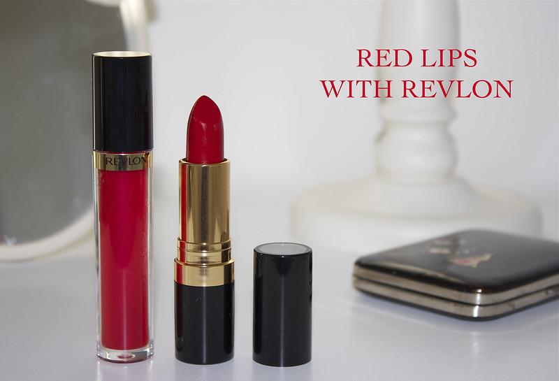 red lips revlon