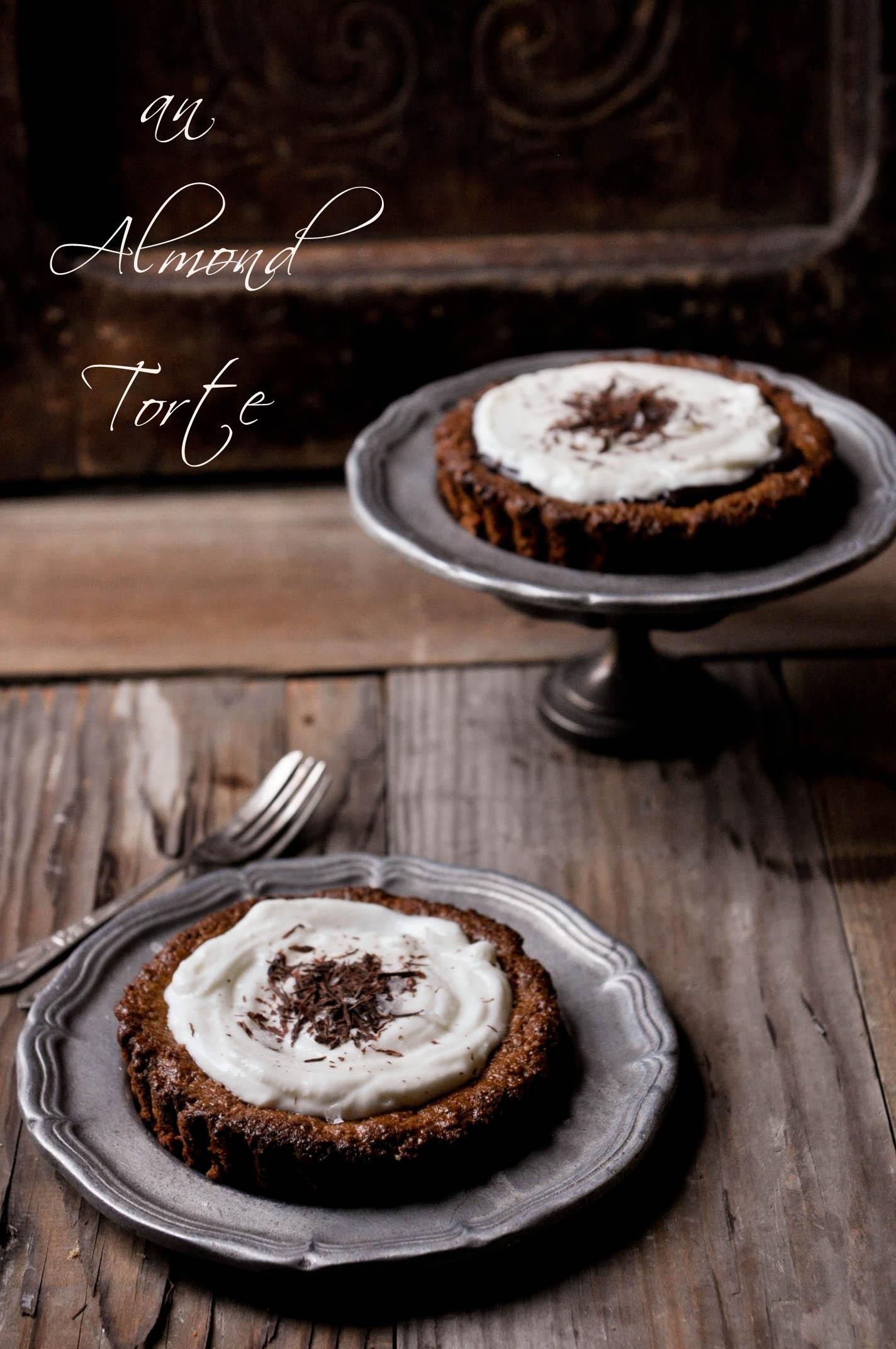 Almond torte