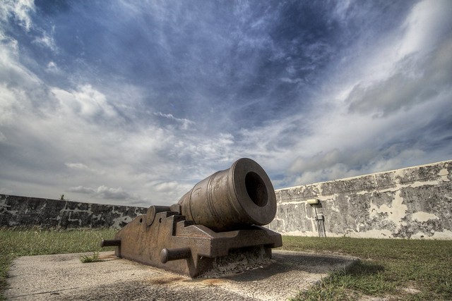 Fort Charlotte Cannon