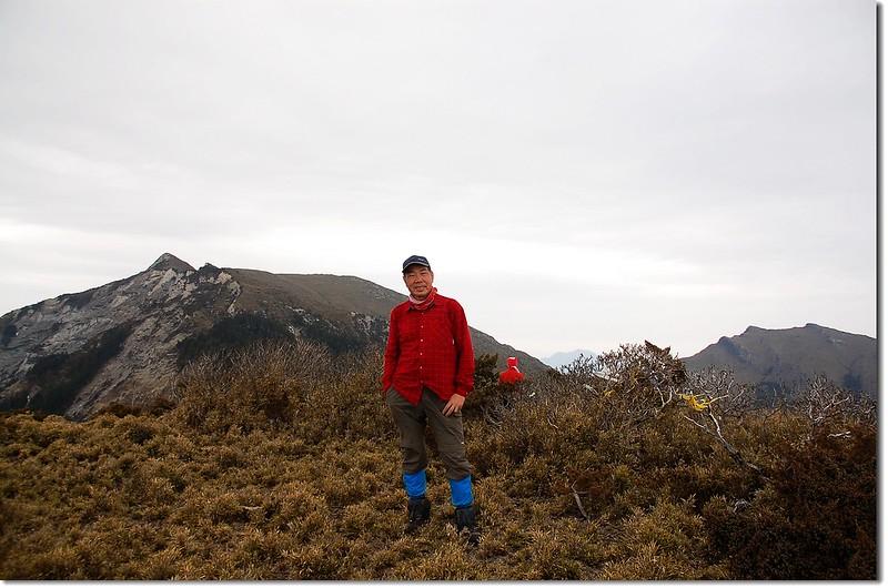 郡東山(Elev. 3477 m)