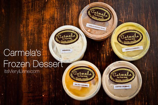 Carmela's Frozen Dessert