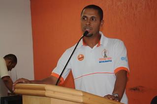 Rodrigo Morais, secretário estadual da Juventude do Solidariedade