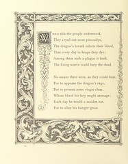 "British Library digitised image from page 20 of ""St. George and the Dragon [in verse], illustrated by J. Franklin [With a preface signed H.]"""
