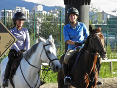 Horse riding in Guatemala