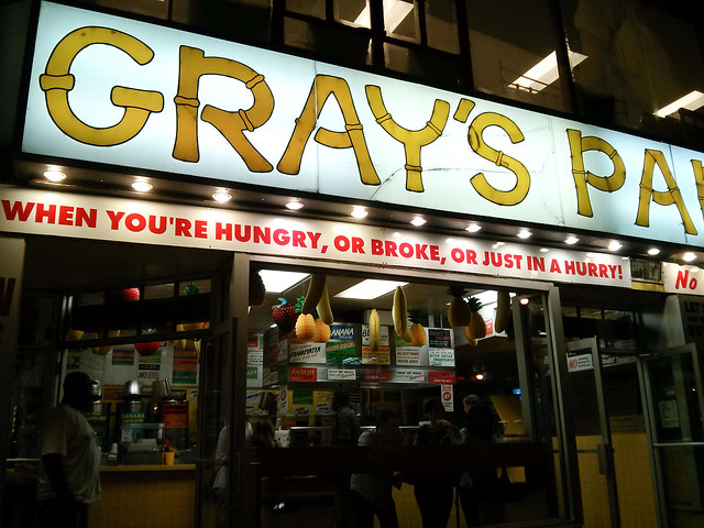 Gray's Papaya | New York City, USA