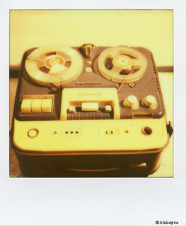 Telefunken # Magnetophon M75 #  Polaroid_PX70_Impossible - Polaroid Land Camera SX70 Impossible SX70 Color - 2013