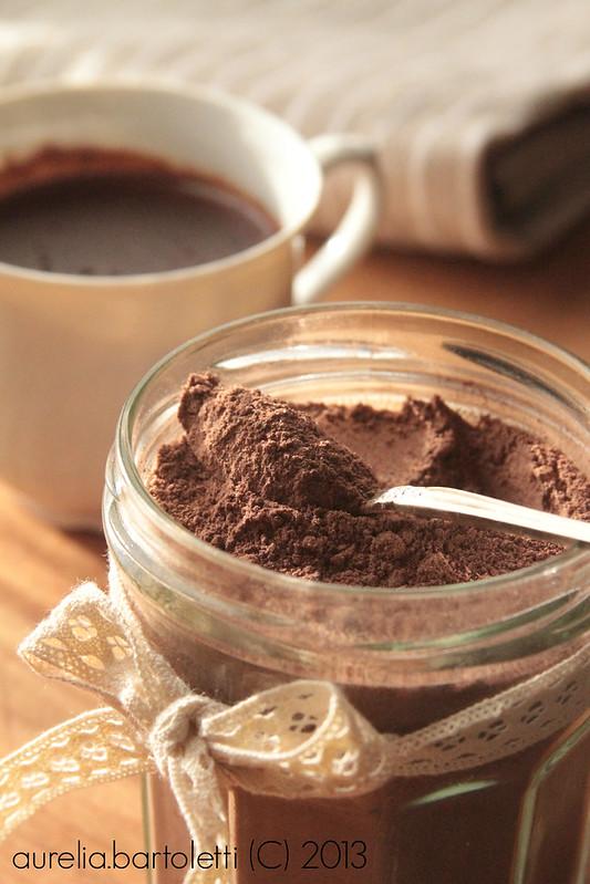 Preparato Homemade per cioccolata in tazza