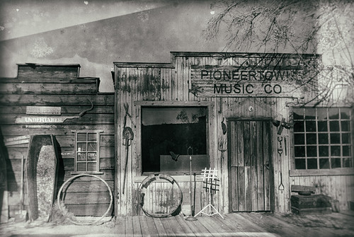 california wood old windows blackandwhite bw usa west building tree dusty window monochrome architecture vintage blackwhite boards nikon humor casket dirty western wetplate d200 movieset hdr sanbernardino undertaker oldwest pioneertown willberry manestreet hbmike2000 analogefex itsreallyalotmorethanthat pioneertownmusicco