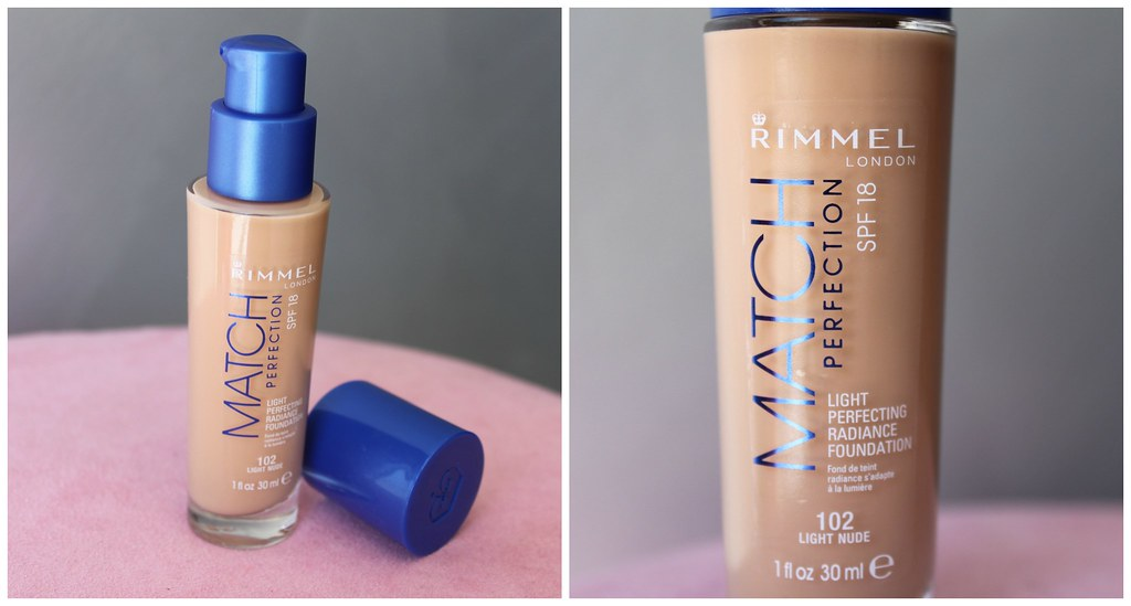 Rimmel Match perfection foundation australian beauty review blog blogger aussie favorite priceline makeup cosmetics new coverage medium light face beautiful pretty swatch