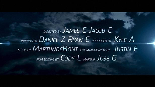 Movie Trailer - Darkness with Lighting
