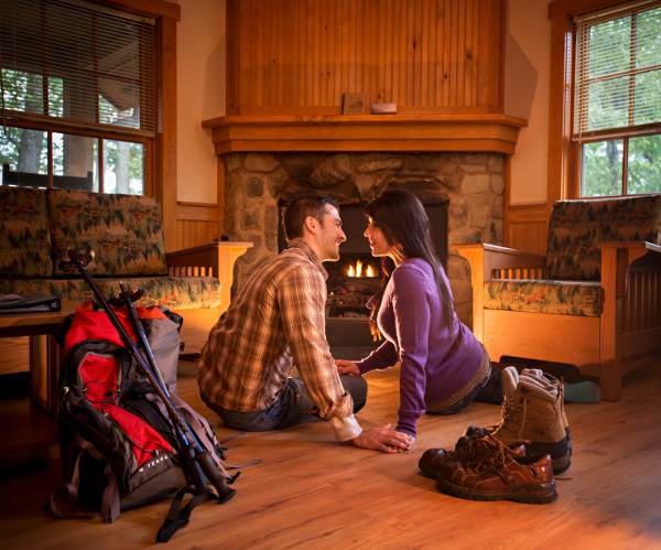 Incroyable Occoneechesee State Park Cabin   Photo Courtesy Of Robert Harris,  Mecklenburg County Tourism Www.