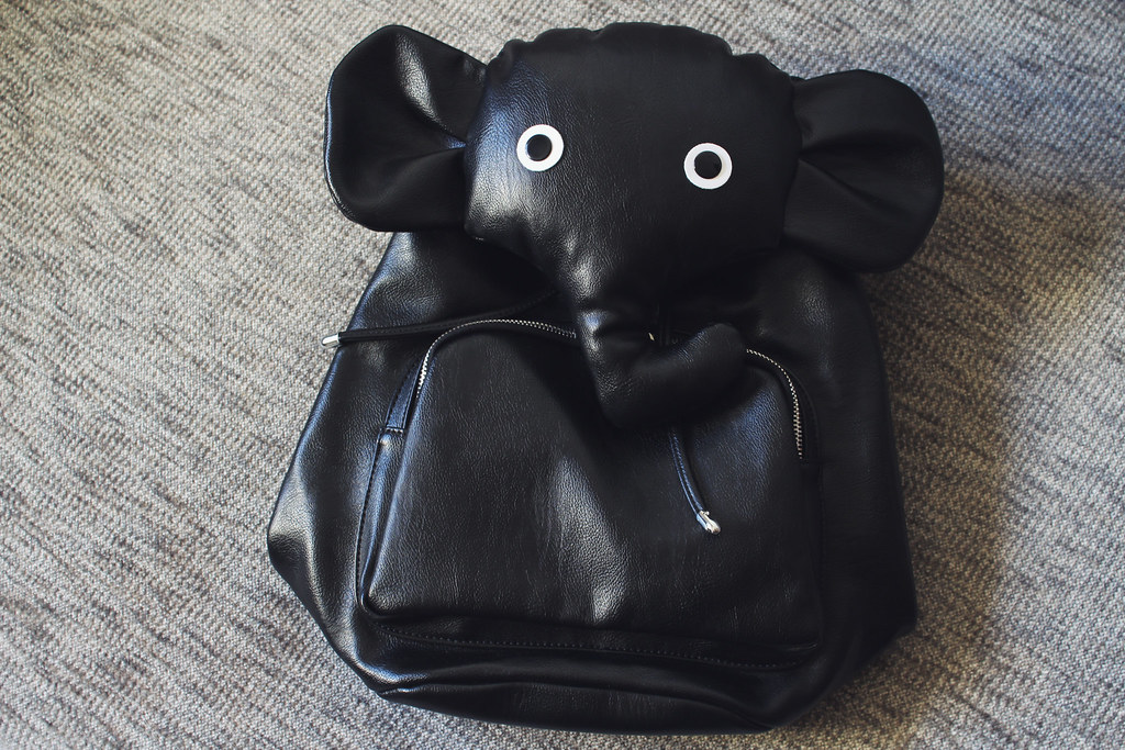 elephant backpack from jollychic