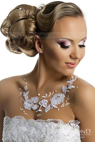 Ольга Тоток - Изысканный макияж для счастливых невест! > Фото из галереи `Мои работы.`