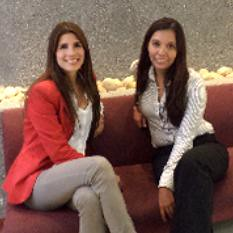 Carla Giraldez y Karen Charry, Microsoft-Nexsys