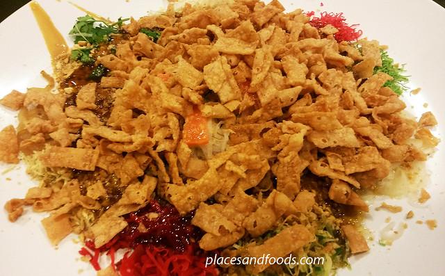 oversea restaurant cny menu yee sang