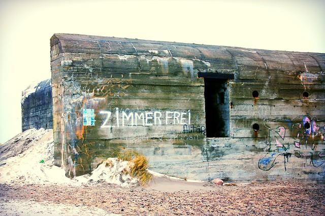 A German bunker from Word War II