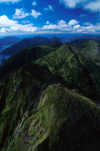 Mountainous Moresby Island, Haida Gwaii (Queen Charlotte Islands), British Columbia, Canada