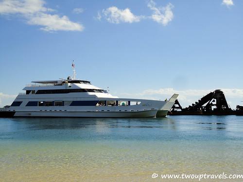 20110415-Micat Passenger Ferry Moreton Island