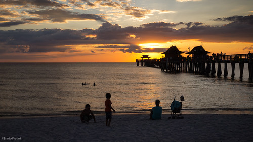 travel sunset usa atardecer pier unitedstates florida playa olympus viajes beaches naples ef e5 zd abigfave