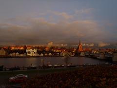 Sonderborg at sunset