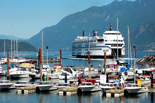 Sewell's Marina, Horseshoe Bay, Howe Sound, West Vancouver, British Columbia, Canada
