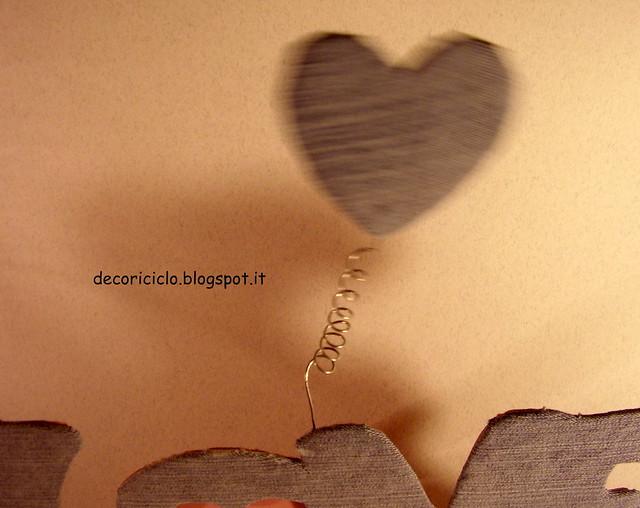 scrittta LOVE con portafoto 3