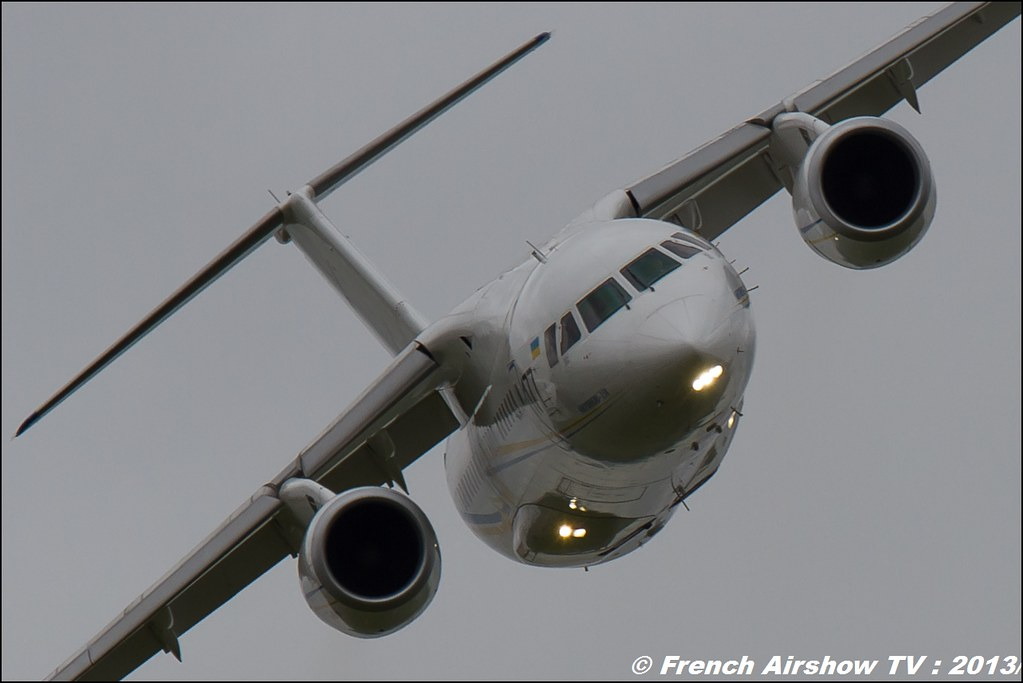 Antonov An-158 ,Salon du Bourget 2013,Paris Airshow 2013