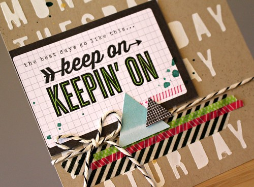 Keep On Card 2