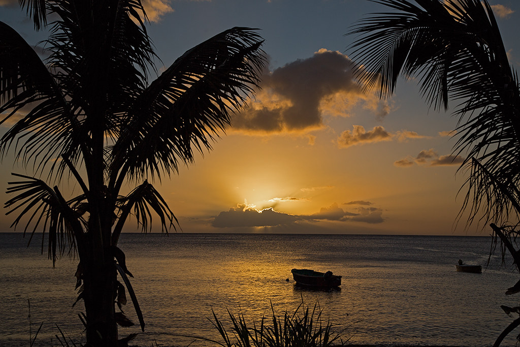 Caribbean Sunset 2014-02-02
