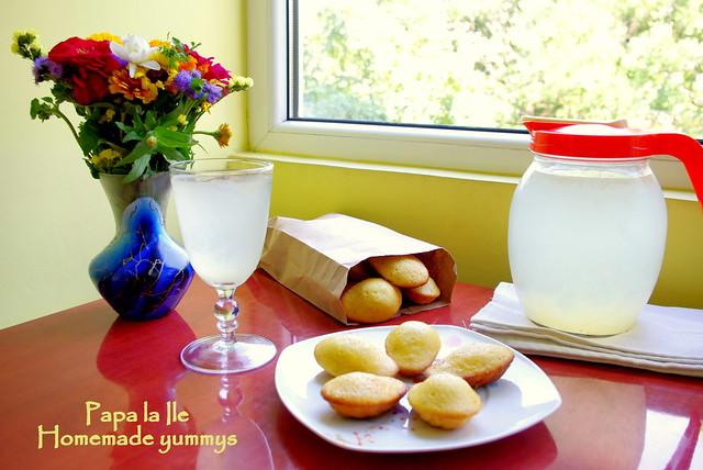 Madlene cu miere si lime (1)