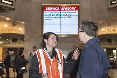 Metro-North Tracks and Service Following Building Collapse