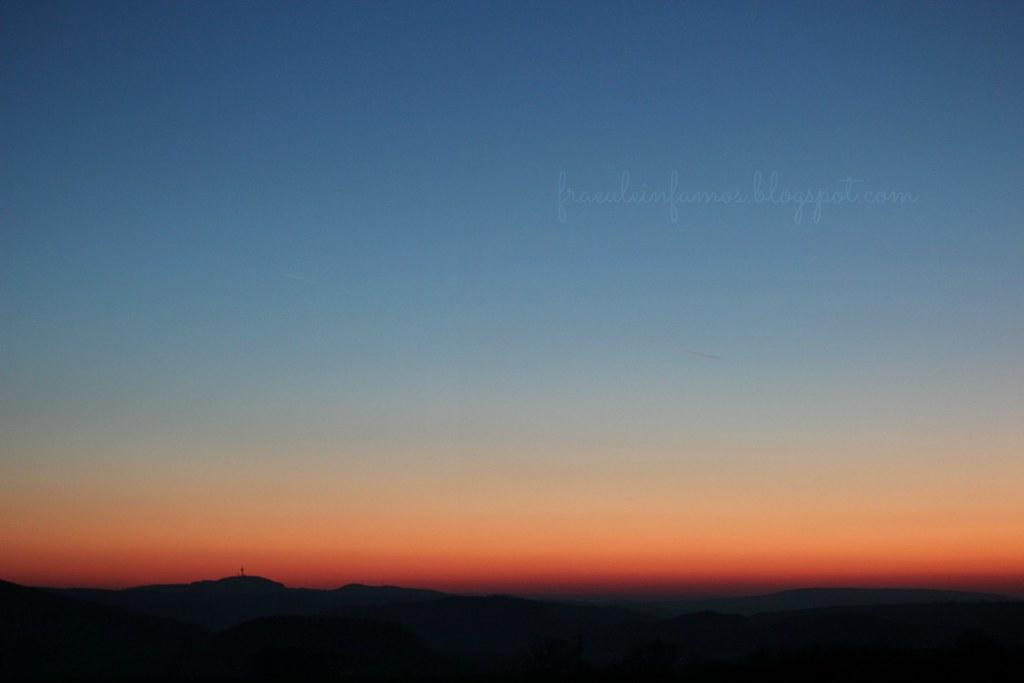 12 von 12 | Abendhimmel