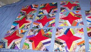 100_9095 - Quilt Blocks for Spider Web Quilt - 3-22-2014