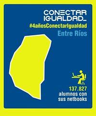 Provincia de Entre Ríos. Conectar Igualdad 4 AÑOS