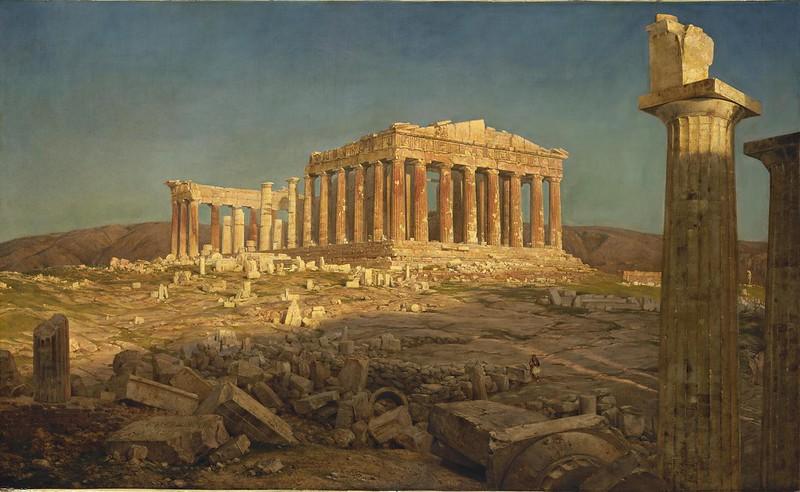 Frederic Edwin Church - Parthenon (1871)